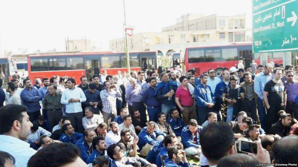 Bildergebnis für iran protest stahlarbeiter