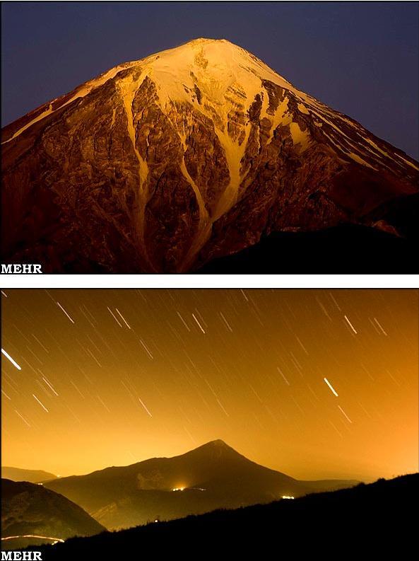 Damāvand-Spitze im Iran